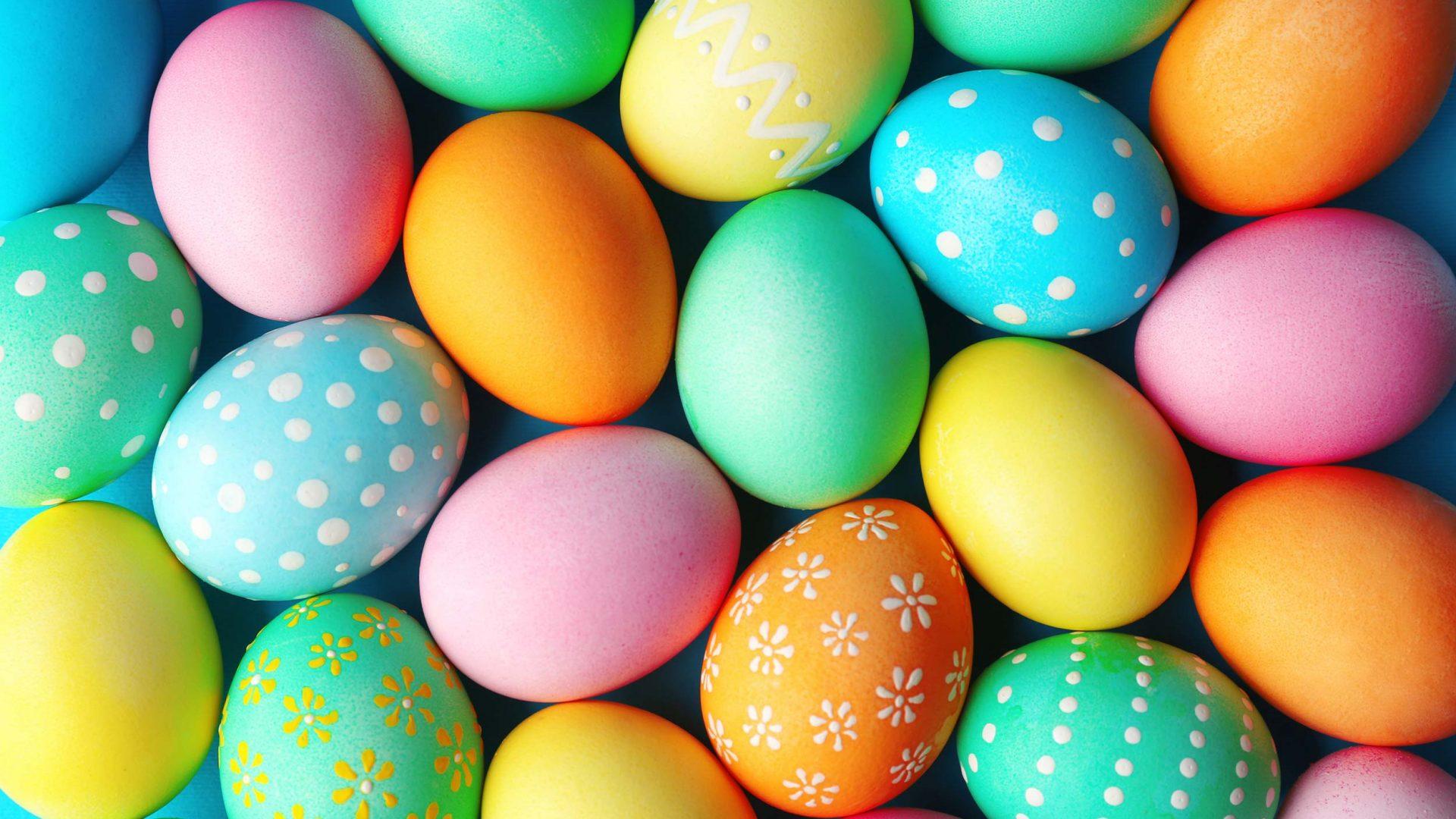 Colour-Easter-eggs